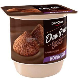 Danone, Даніссімо, 125 г, Данон, Десерт сирний, Шоколадний трюфель, 3,2%