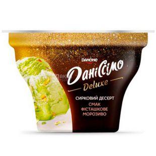 Danone, Даніссімо, 130 г, Данон, Десерт сирний, Фісташкове морозиво, 3%