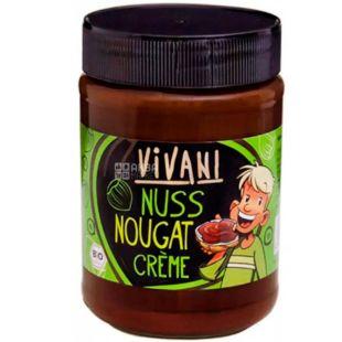 Vivani, 400 g, Vivani, Pasta with milk chocolate and nougat