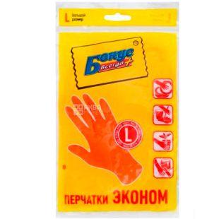 Bonus, Rubber gloves, universal, size L