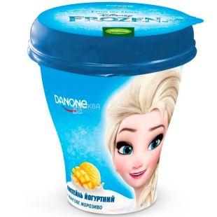 Danone Disney Frozen, 250 г, Данон, Коктейль йогуртний, Мангове морозиво, 1,5%
