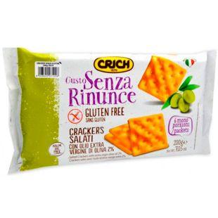 Crich, 200 г, Крич, Крекер с оливковым маслом, без глютена