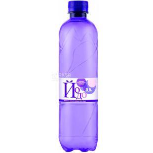 Йодо, 0,5 л, Вода минеральная йодированная, газированная