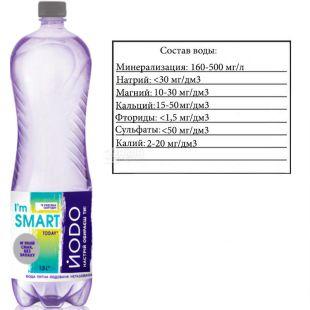 Йодо, 1,5 л, Вода мінеральна негазована, ПЕТ