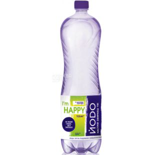 Iodine, 1.5 L, Soda water, Mineral, PET, PAT