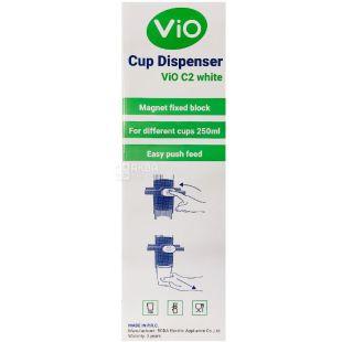 ViO С2, Стаканодержатель магнитный для бумажных стаканчиков, белый