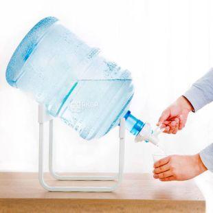 ViO, Подставка наклонная под 1 бутыль, металлическая настольная, белая