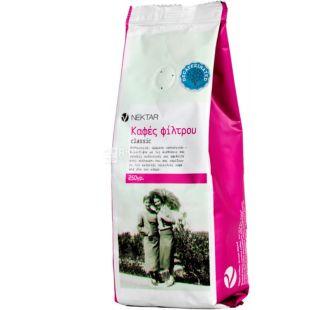 Nektar, 250 g, Greek Coffee Nectar, medium roasted, under the filter, decaffeinated, ground