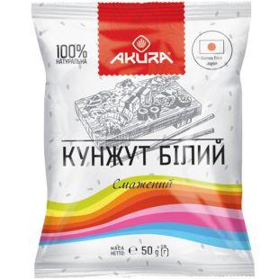 Akura, White Sesame, 50 g