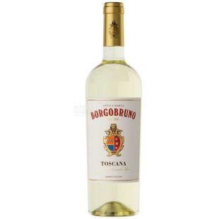 Borgobruno Toscana, Вино белое полусухое, 0,75 л