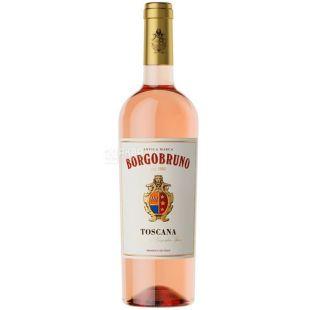 Borgobruno Toscana, Вино розовое полусухое, 0,75 л