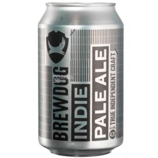 BrewDog, Indie Pale Ale, Craft beer, 0.33 L
