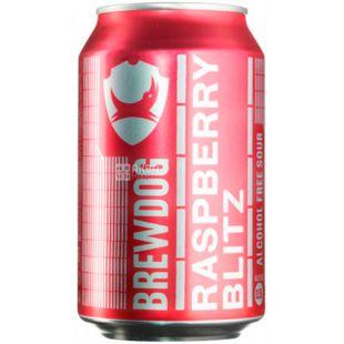 BrewDog, Raspberry Blitz, Пиво безалкогольное, 0, 33 л