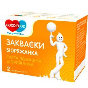 GoodFood, 2 pcs. x 1 g, Sourdough bacterial, Bio-loaded