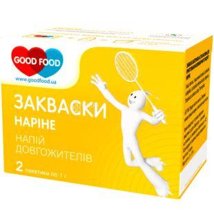 GoodFood, 2 шт. х 1 г, ГудФуд, Закваска бактеріальна, Наріне