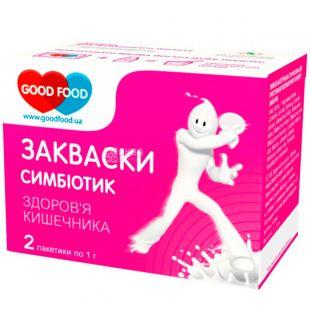 GoodFood, 2 шт. х 1 г, ГудФуд, Закваска бактеріальна, Симбіотик