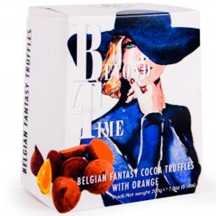 Beldgian chocolate, Beyond Time, 200 г, Конфеты с Трюфелем и апельсином