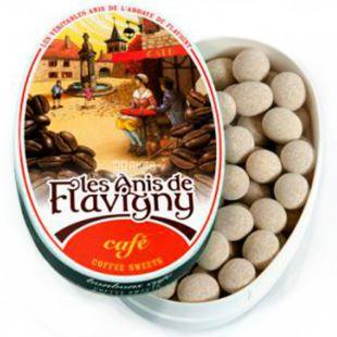 Anis de Flavigny, 50 г,  Анис де Флавиньи, Драже кофе