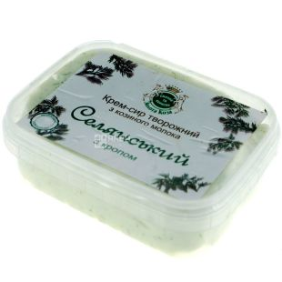 Golden Goat, 150 g, Cream-cheese Selyansky with dill