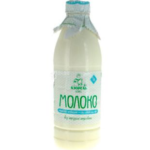 Azorel. 1 liter, Cow's milk, whole raw, farm