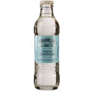 Franklin & Sons.  Original Lemonade, 200 ml, Franklin & Sons, Soft drink Lemonade Original