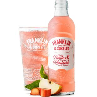 Franklin & Sons, 275 ml, Franklin & Sons, Carbonated Drink Apple and Rhubarb