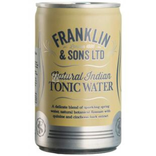 Franklin & Sons, Tonic Indian, 150 ml, Franklin & Sons, Indian Tonic