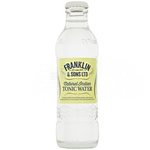 Franklin & Sons, Tonic Indian, 200 ml, Franklin & Sun, Tonic Indian