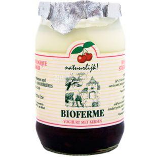 Bioferme, 150 g, Bioferm, Cherry Yogurt, Organic, 3 %