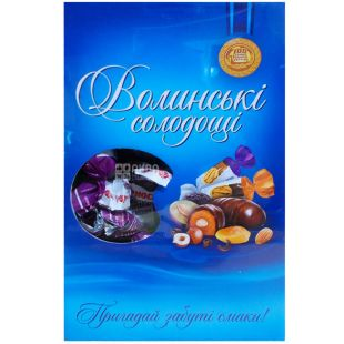 Volyn Sweets, Prunes in chocolate, sweets, 500 g