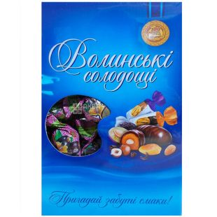 Volyn Sweets, Date with walnuts in chocolate, sweets, 500 g