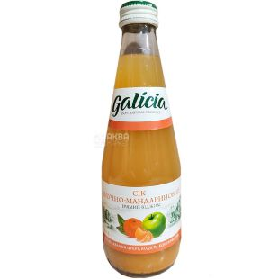 Galicia, 0,3 л, Галиция, Сок, Яблочно-мандариновый