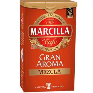 Marcilla Gran Aroma Mezcla, 250 г, Кофе Маркилла Гран Арома Мезкл, средней обжарки, молотый