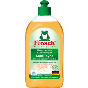 Frosch, 500 ml, Balm for mitty dishes, Calendula