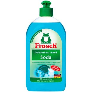 Frosch, 500 ml, Dishwashing concentrate balm, with soda
