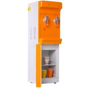 ViO X83-FCC ORANGE, Floor-mounted water cooler with compressor cooling