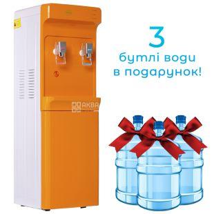 ViO Х83-FCC ORANGE, Кулер для воды с компрессорным охлаждением, напольный