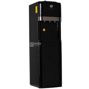 ViO Х601-FCB Black, Кулер для воды напольный с компрессорным охлаждением, нижняя загрузка бутыли