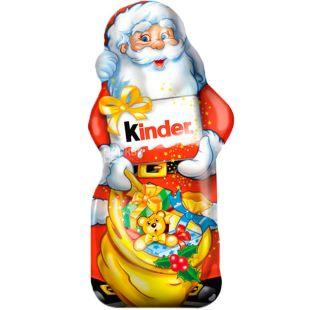 Kinder, 55 г, Кіндер, Шоколадна фігурка, Дід Мороз