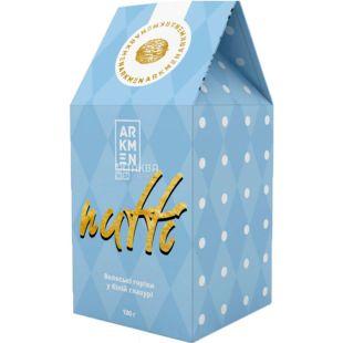 Arkmen Nutti, 100 г, Аркмен Нутти, Грецкие орехи в белом шоколаде