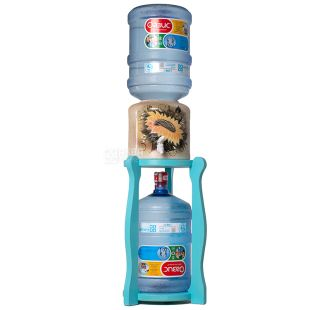 ViO, Stand for large wooden round bottles, under 2 bottles, WSD-5 turquoise
