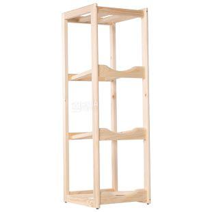 ViO, Shelf rack wooden for water under 3 bottles, WS-3 BEECH