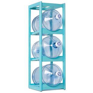 ViO, Support wooden under 3 bottles, WS-3 turquoise