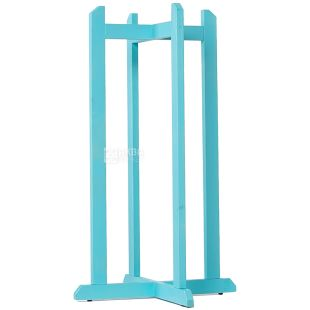 ViO, Support wooden high cross for a dispenser, WSD-2 Turquoise
