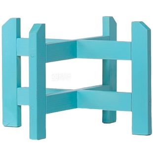 ViO, Stand made of wood under the dispenser, Cross, Low, WSD-1 Turquoise