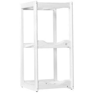 ViO, Підставка дерев'яна WS-2, під 2 бутлі, біла