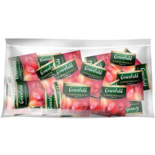 Greenfield, Summer Bouquet, 100 пак., Чай Гринфилд, Саммер Букет, травяной с малиной, HoReCa