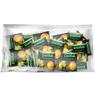 Greenfield, Lemon Spark, 100 пак., Чай Гринфилд, Лемон Спарк, черный байховый, ХоРеКа