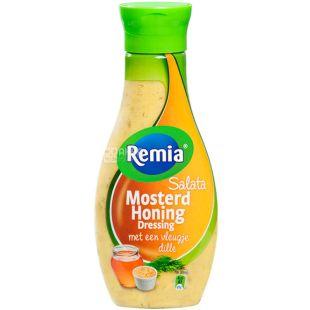 Remia, 250 мл, Ремия, Соус-дрессинг салатный, мед и горчица