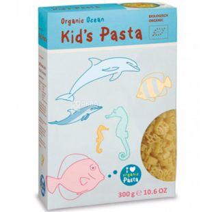 Alb Gold Kids pasta, 300 г, Альб Голд, Паста детская Океан органическая